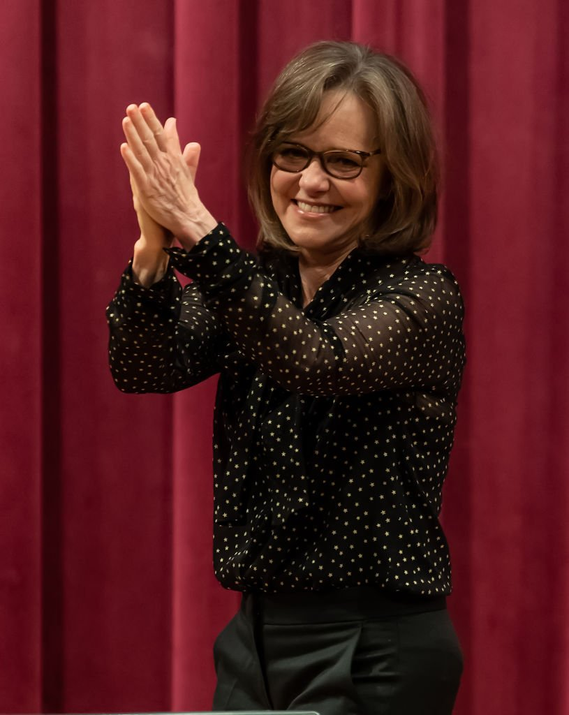 "Actress Sally Field signs copies of her new book ""In Pieces"" at Free Library of Philadelphia