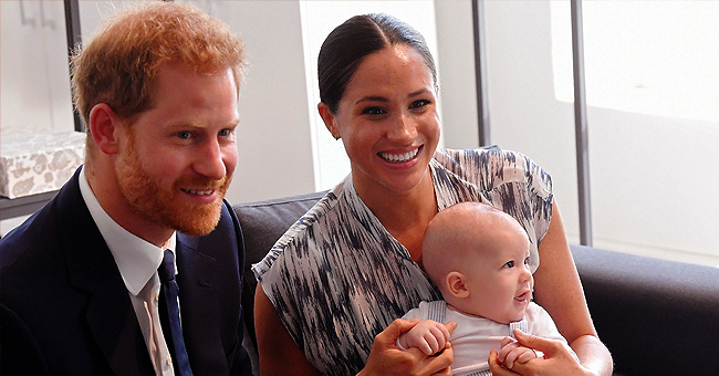 Prince Harry Sent Pic of Son Archie in England Jersey to National Rugby Team before the World Cup Finals