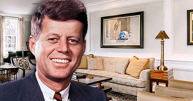 John F Kennedy's Former Washington, DC, Home Gets Listed for $4.6 Million