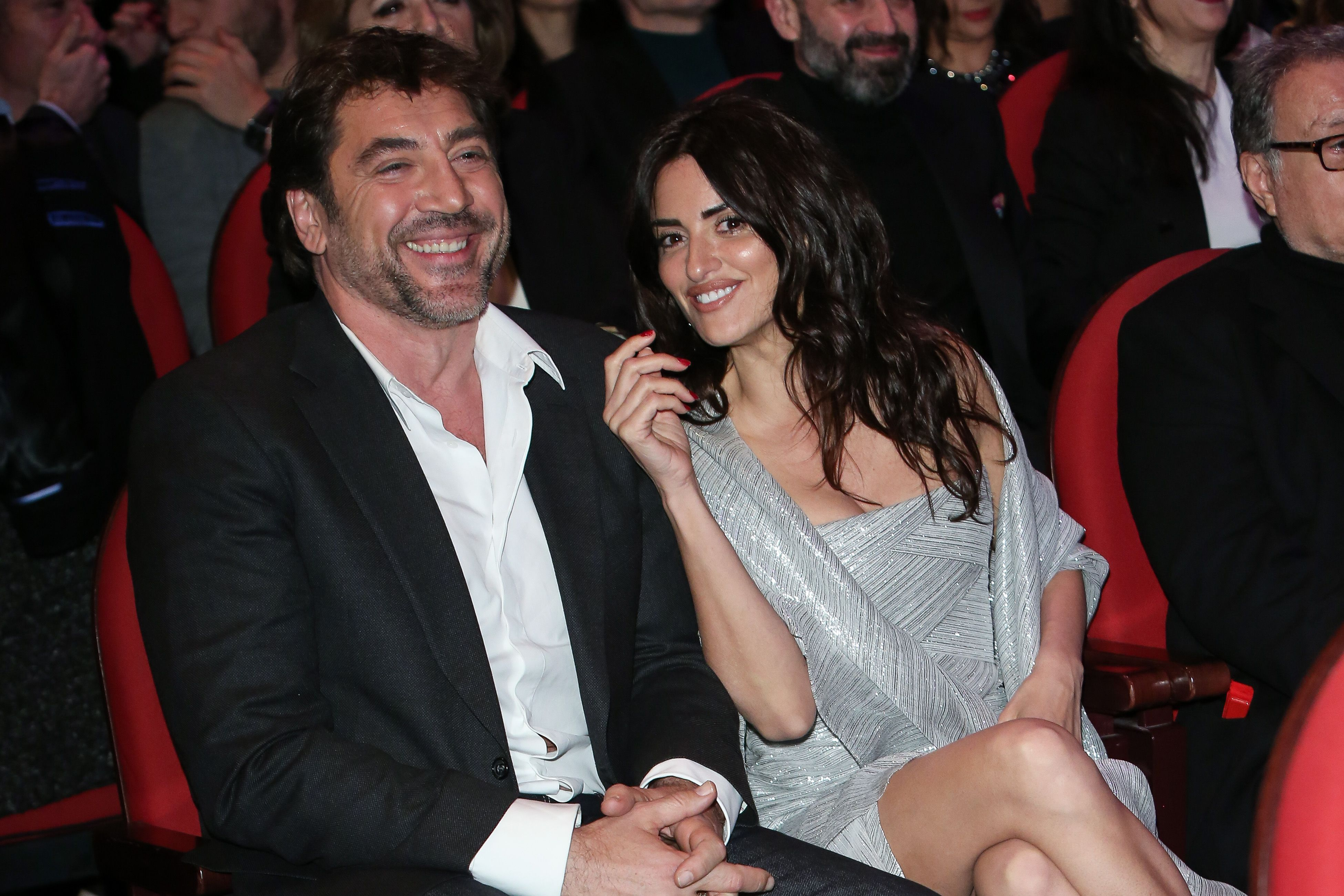 Javier Bardem and Penelope Cruz at the 'Union de Actores' awards gala in 2018 in Madrid, Spain | Source: Getty Images