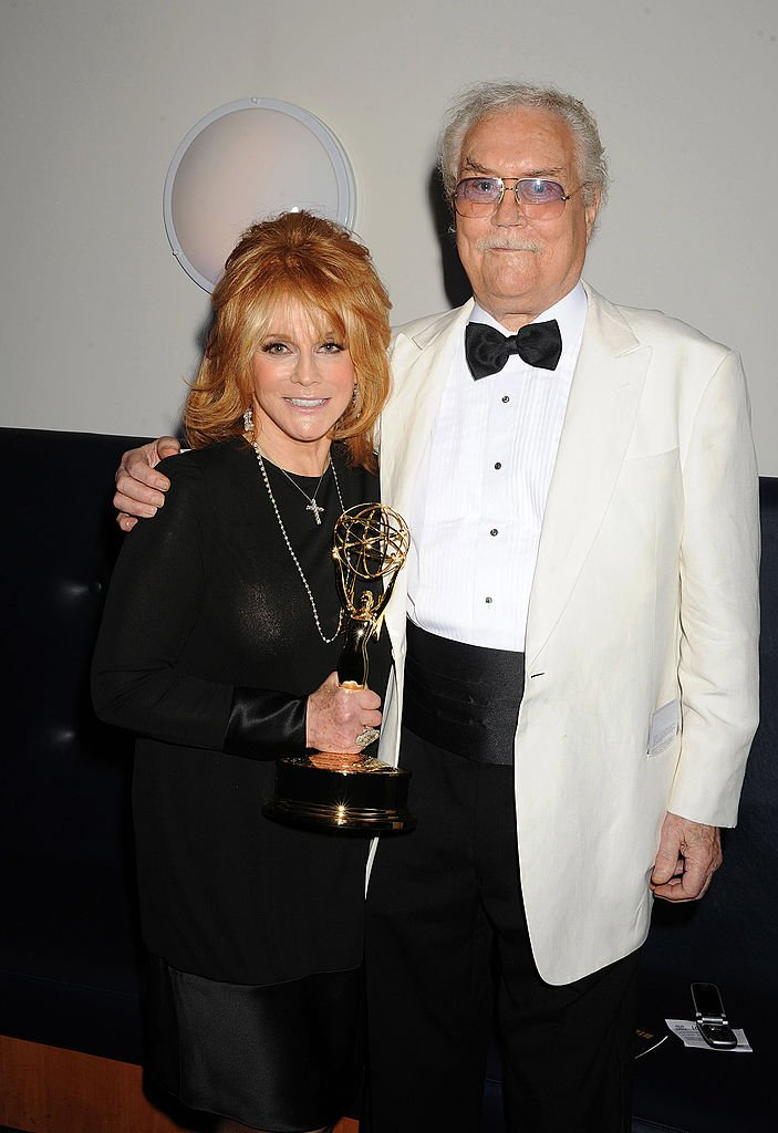 Ann-Margret and husband Roger Smith at the 2010 Creative Arts Emmy Awards | Photo: Getty Images