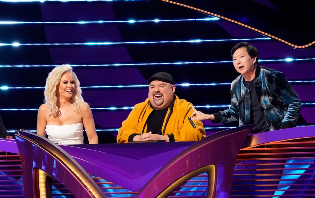 Jenny McCarthy, guest panelist Gabriel Iglesias and Ken Jeong in the Mask-Matics: Group B Playoffs episode of THE MASKED SINGER airing Wednesday, Feb. 26 | Photo: Getty Images