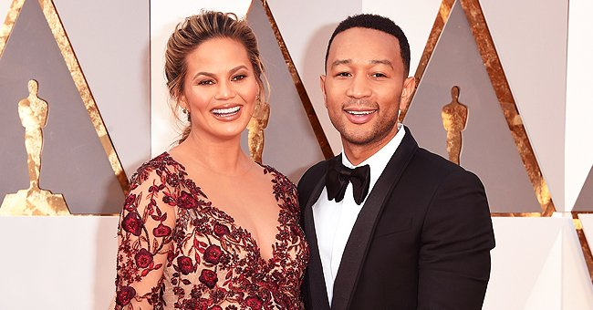 John Legend and Chrissy Teigen's Children Luna and Miles Look a Lot like Each Other in Their Summer Outfits