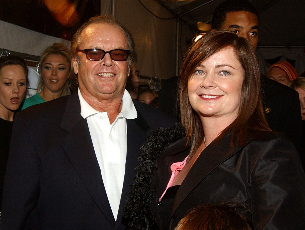 Jack Nicholson and his daughter Jennifer Nicholson at the latter's Spring Collection presentation during 2003 Smashbox Fashion Week in Los Angeles, California.   Image: Getty Images.