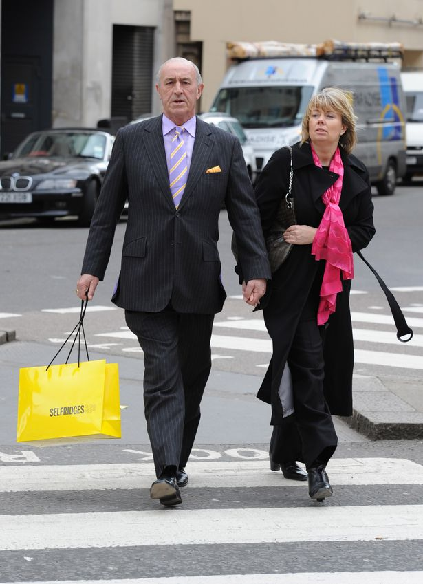 Len Goodman and his wife, Sue Barrett | Photo: Wikimedia Commons