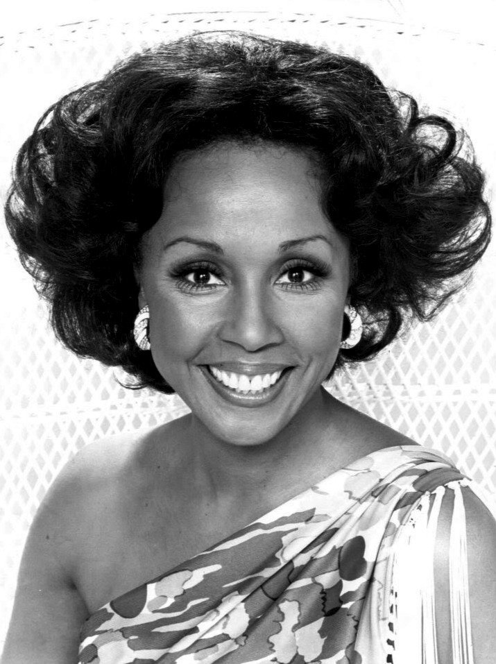 Singer and actress Diahann Carroll in 1975/ Source: Wikimedia