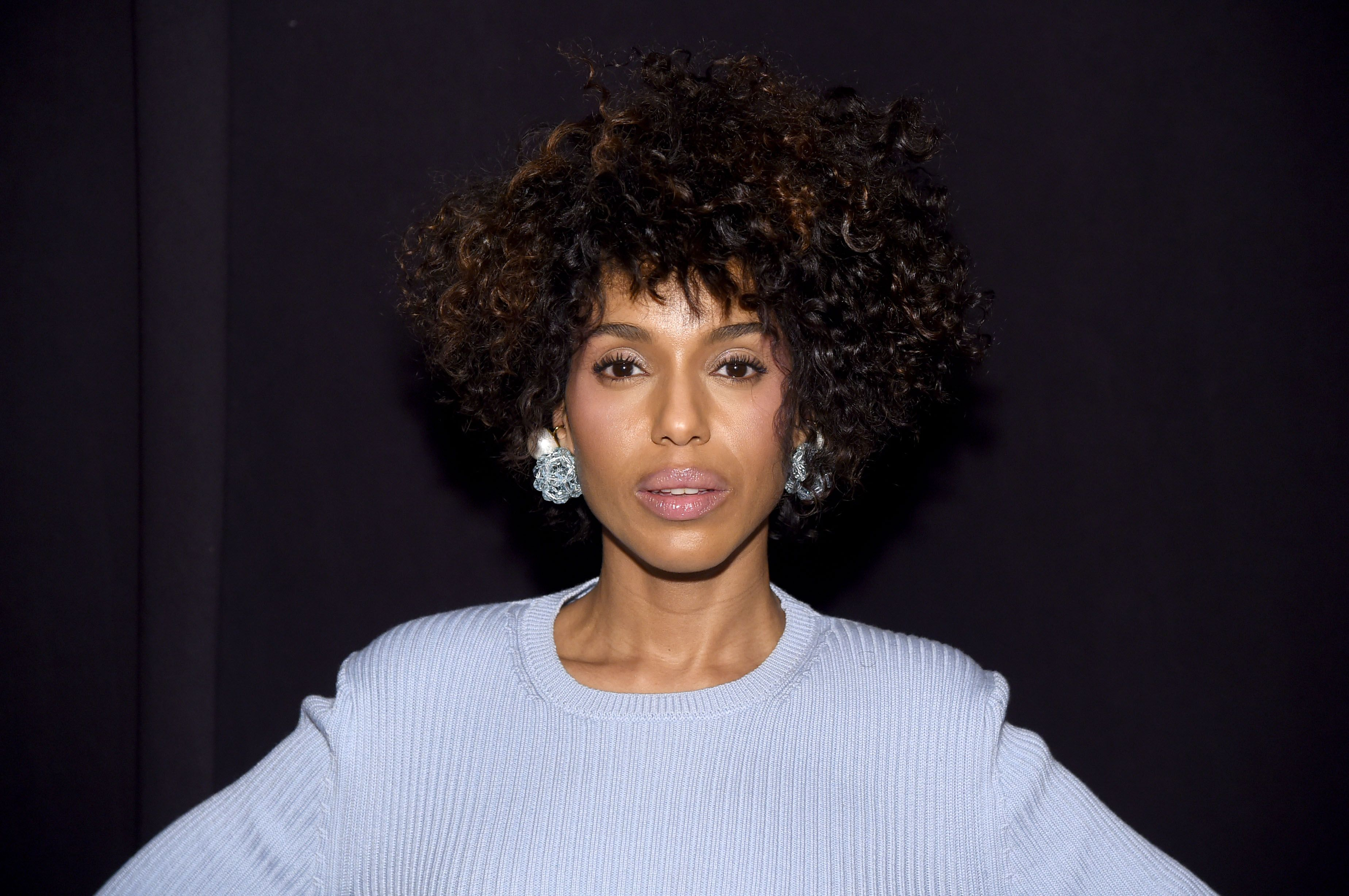 Kerry Washington at the Marc Jacobs Fall 2019 Show at Park Avenue Armory in New York City on February 13, 2019. | Photo: Getty Images