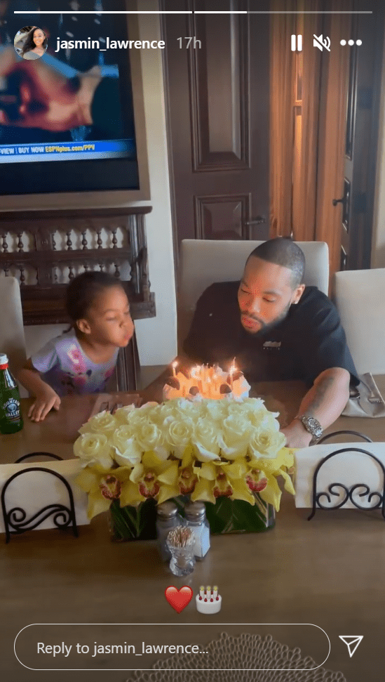 Jasmin Lawrence shares a picture of her boyfriend Eric Murphy on his birthday. | Photo: Instagram/Jasmin_lawrence