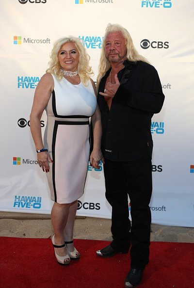 Late Beth Chapman and Duane Chapman at the Sunset on the Beach event on November 10, 2017 | Photo: Getty Images
