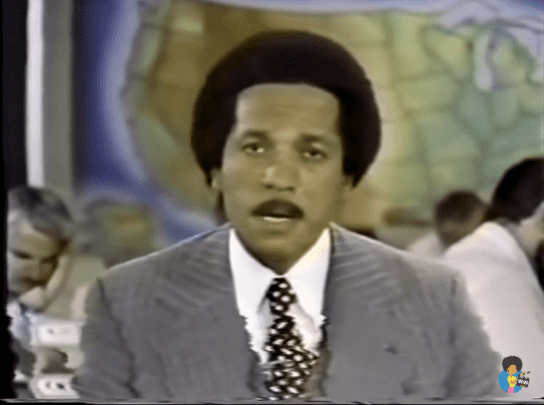 Max Robinson on ABC World News Tonight, July 10, 1978 | Source: YouTube/realblack