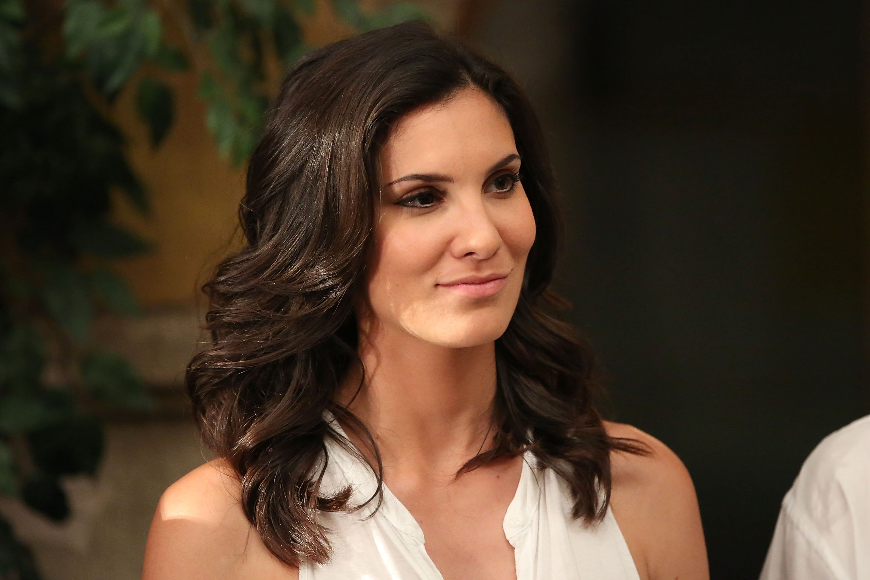 """Daniela Ruah attends the """"NCIS: Los Angeles"""" 100th Episode Cake-Cutting Ceremony at Paramount Studios on August 23, 2013 in Hollywood, California 
