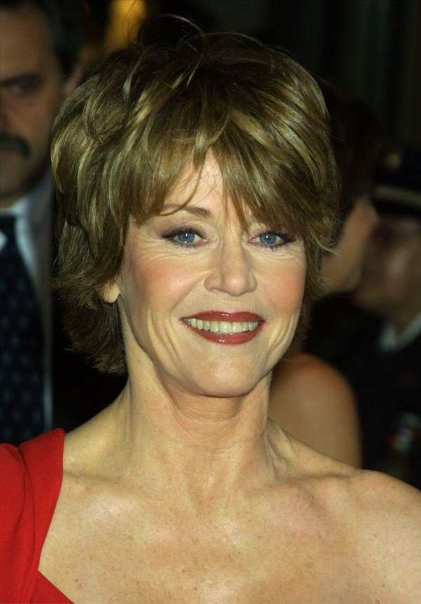Jane Fonda on May 7, 2001 at Lincoln Center in New York City | Source: Getty Images