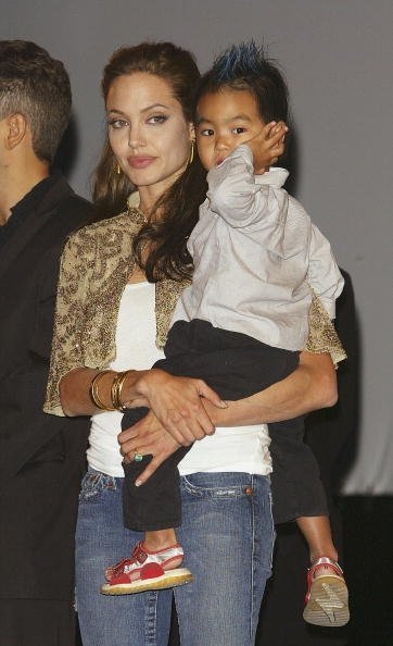 Angelina Jolie and Maddox Jolie-Pitt on September 10, 2004 in Venice, Italy | Photo: Getty Images