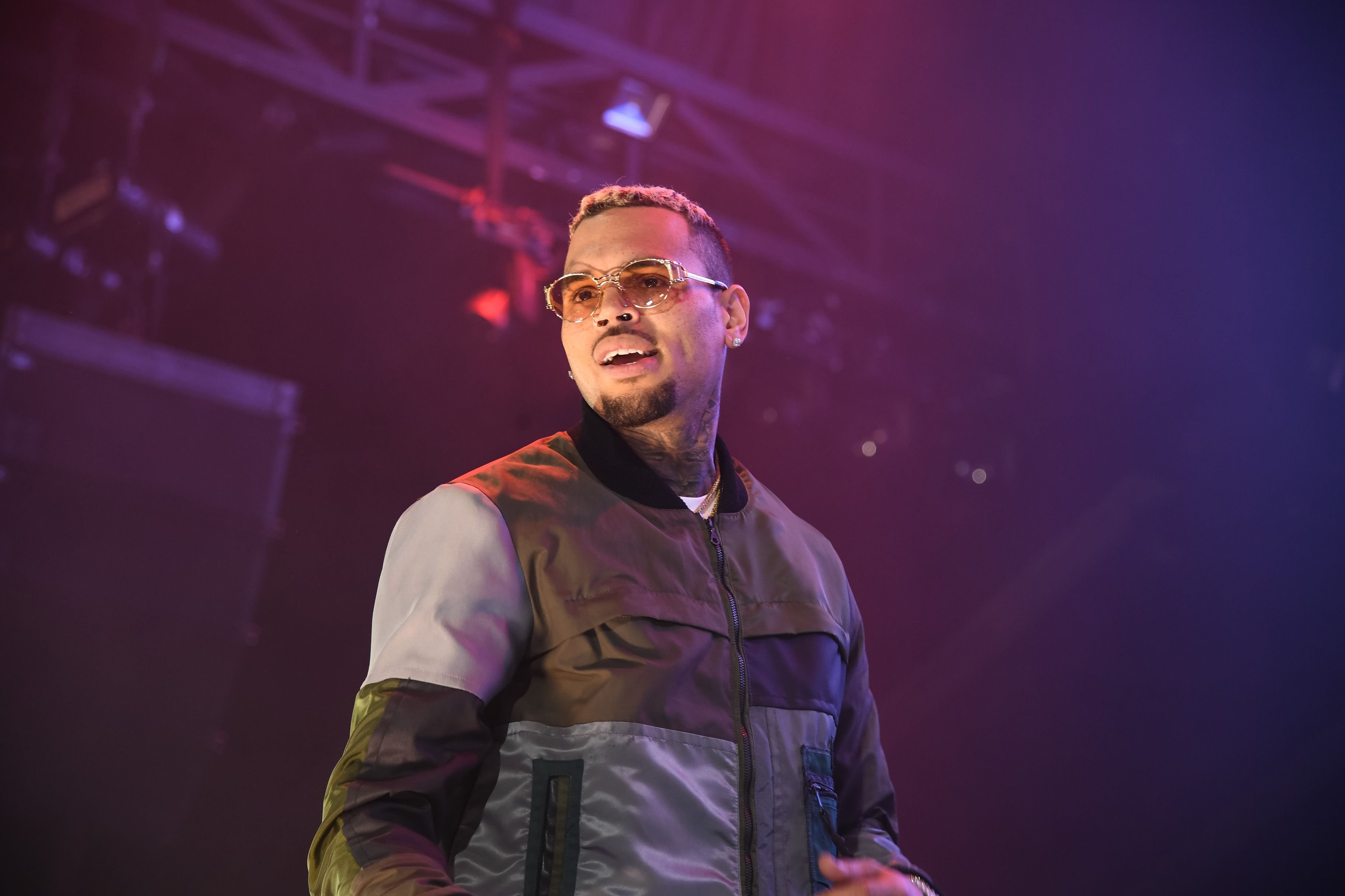 Chris Brown performs at the HOT 97 Summer Jam in June 2017 | Photo: Getty Images