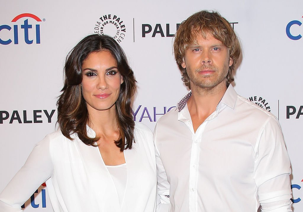 "Daniela Ruah and Eric Christian Olsen attend the PaleyFest 2015 fall TV preview of ""NCIS: Los Angeles"" at The Paley Center for Media on September 11, 2015. 