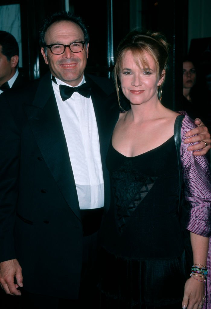 Howard Deutch and Lea Thompson at the 5th Annual 'Stars of Tomorrow' Gala, Regent Beverly Wilshire Hotel, Beverly Hills.   Source: Getty Images