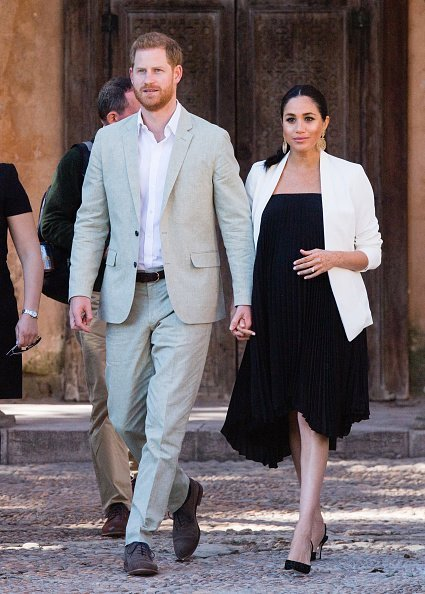 Prince Harry, Duke of Sussex and Meghan, Duchess of Sussex visit the Andalusian Gardens on February 25, 2019 in Rabat, Morocco | Photo: Getty Images