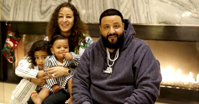 DJ Khaled Sits on a Swing in Matching Outfits with Youngest Son Aalam — See the Sweet Moment