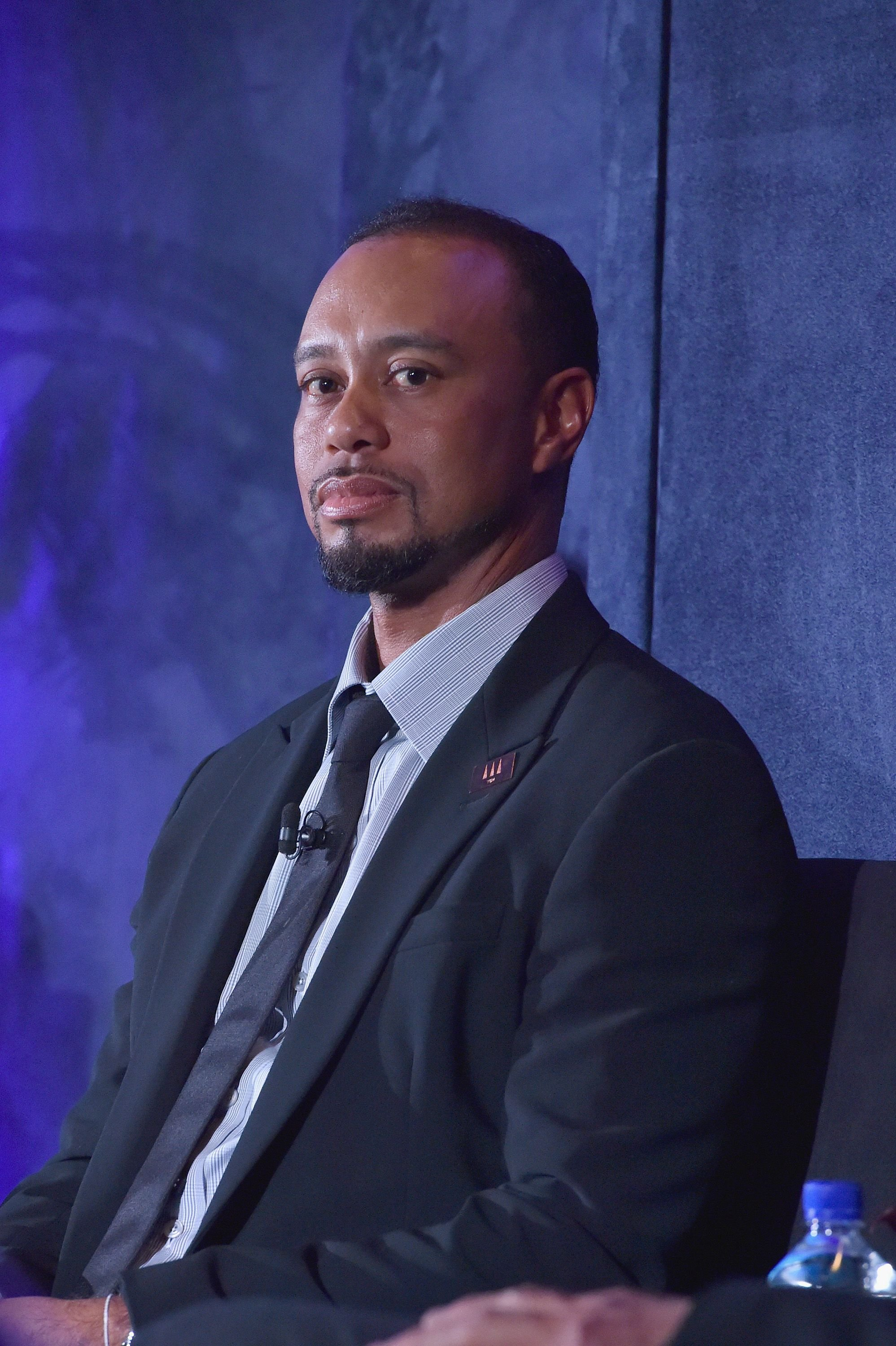 Tiger Woods onstage for the Tiger Woods Foundation's 20th anniversary celebration at the New York Public Library on October 20, 2016 in New York City. | Photo: Getty Images