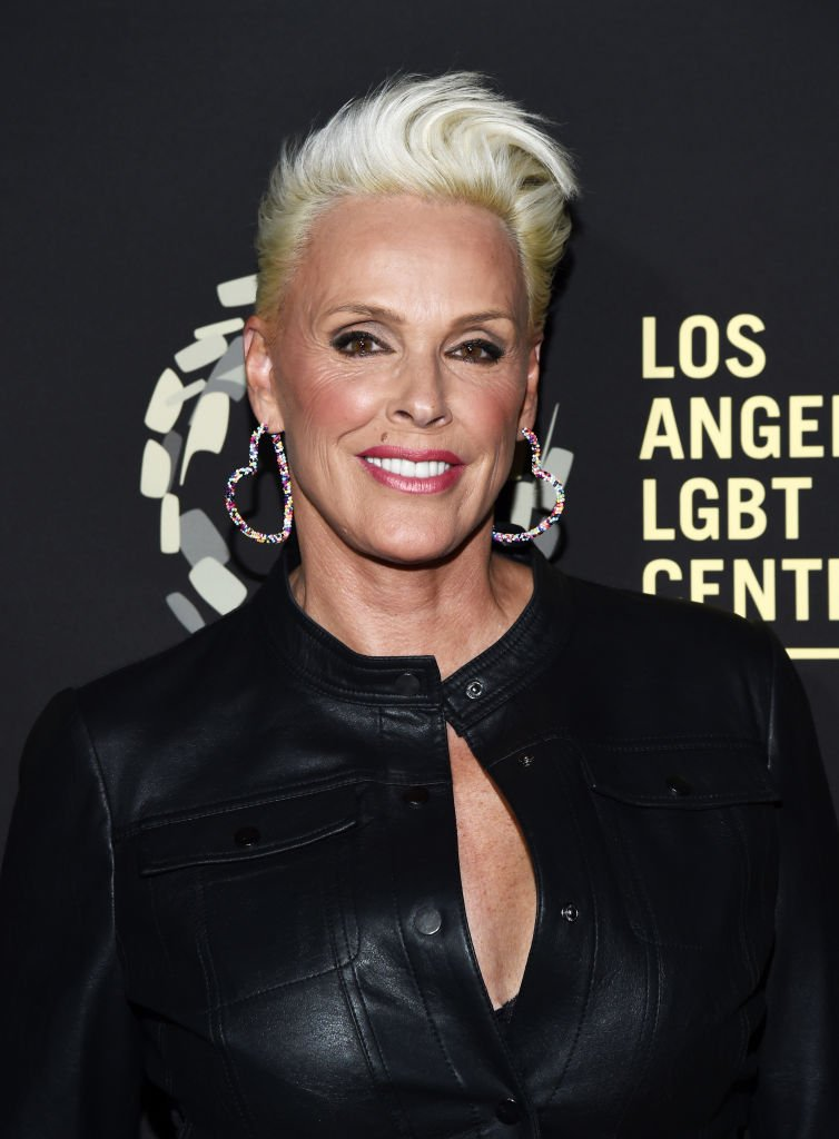 "Brigitte Nielsen arrives at the Los Angeles LGBT Center's Gold Anniversary Vanguard Celebration ""Hearts Of Gold"" at The Greek Theatre 