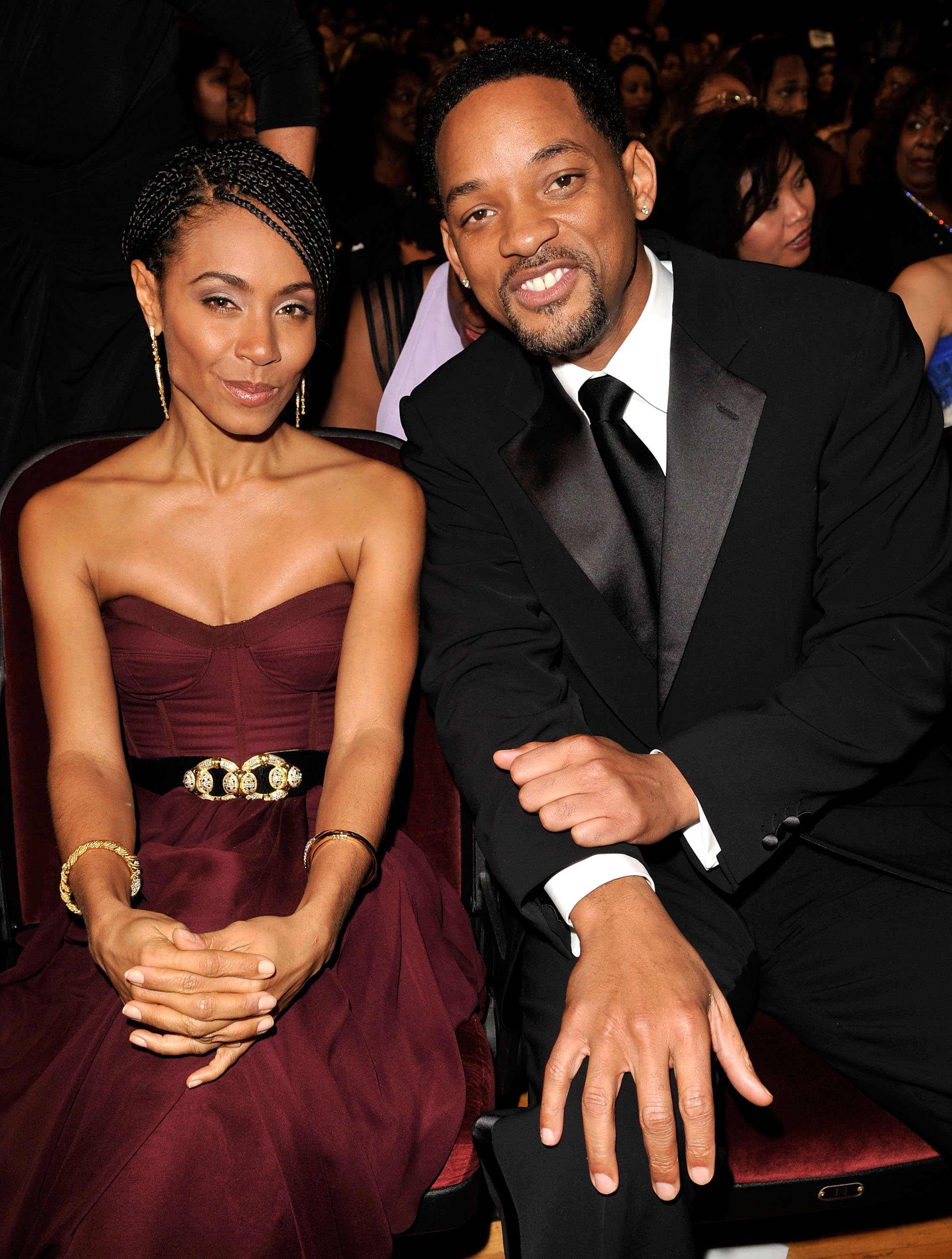 Jada Pinkett Smith & Will Smith at the 40th NAACP Image Awards on Feb. 12, 2009 in California | Photo: Getty Images