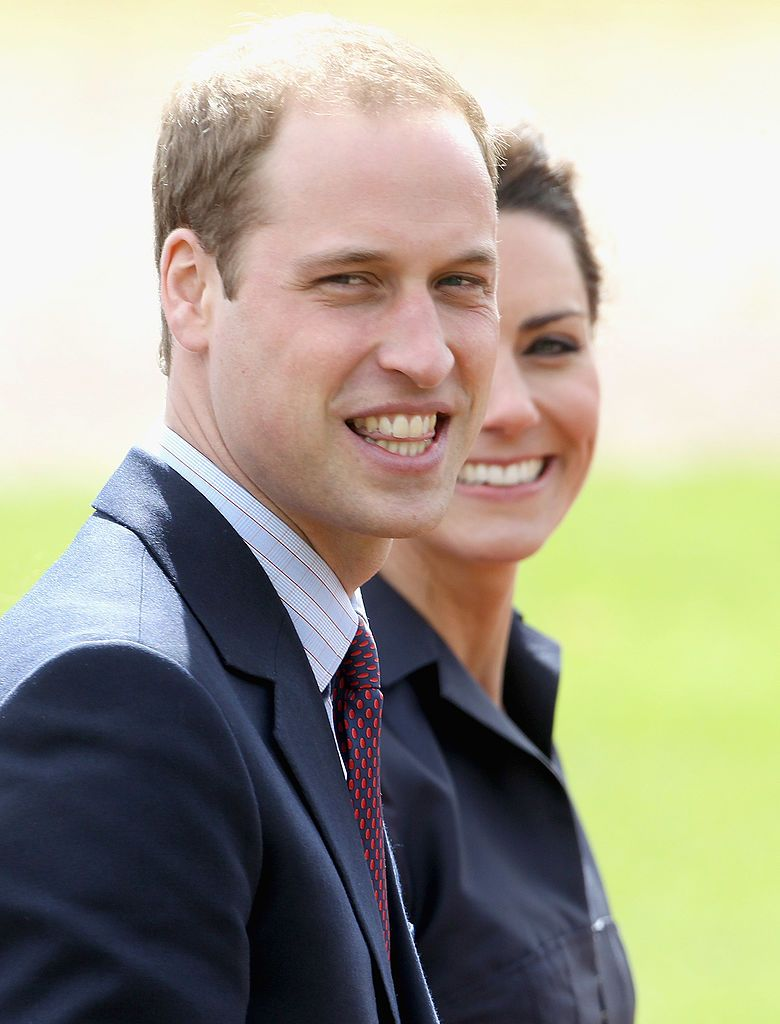 Prince William and Kate Middleton at Whitton Park on April 11, 2011 in Darwen. | Photo: Getty Images