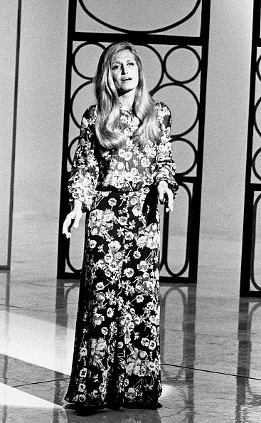 La photo de la chanteuse Dalida en 1972, à Madrid |Source: Getty Images/ Global Ukraine