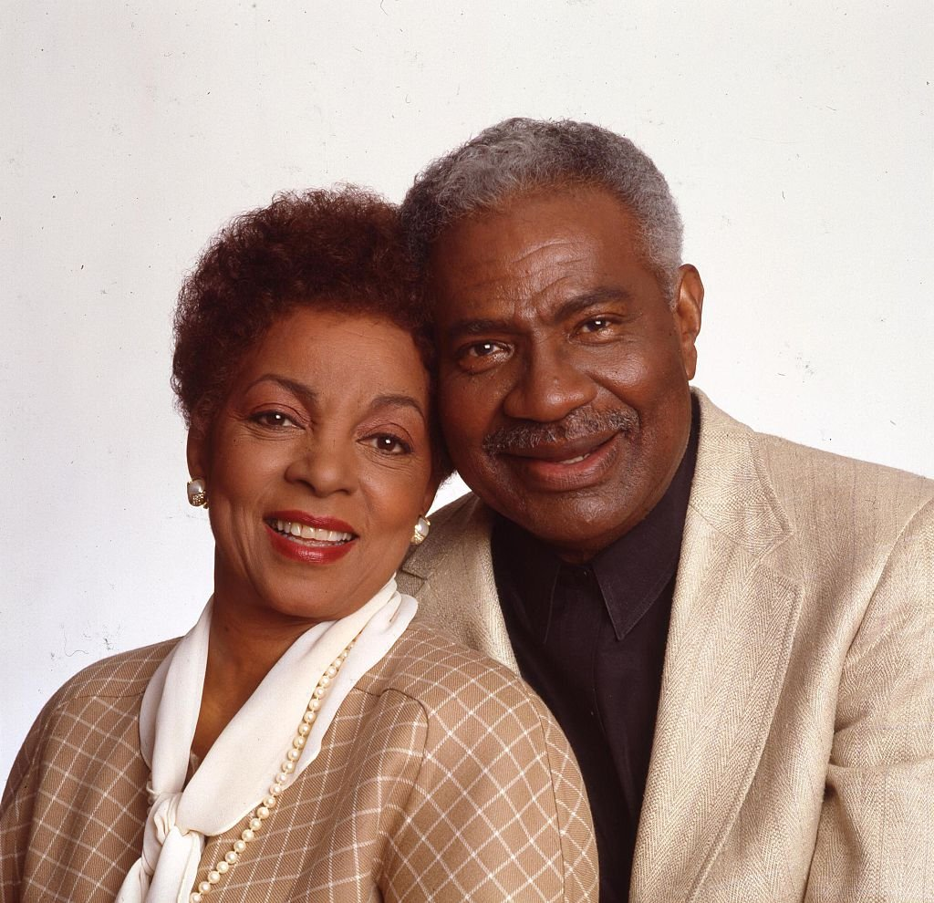Portrait of married American actors and Civil Rights activists Ruby Dee and Ossie Davis in New York, 1980s. | Photo: Getty Images