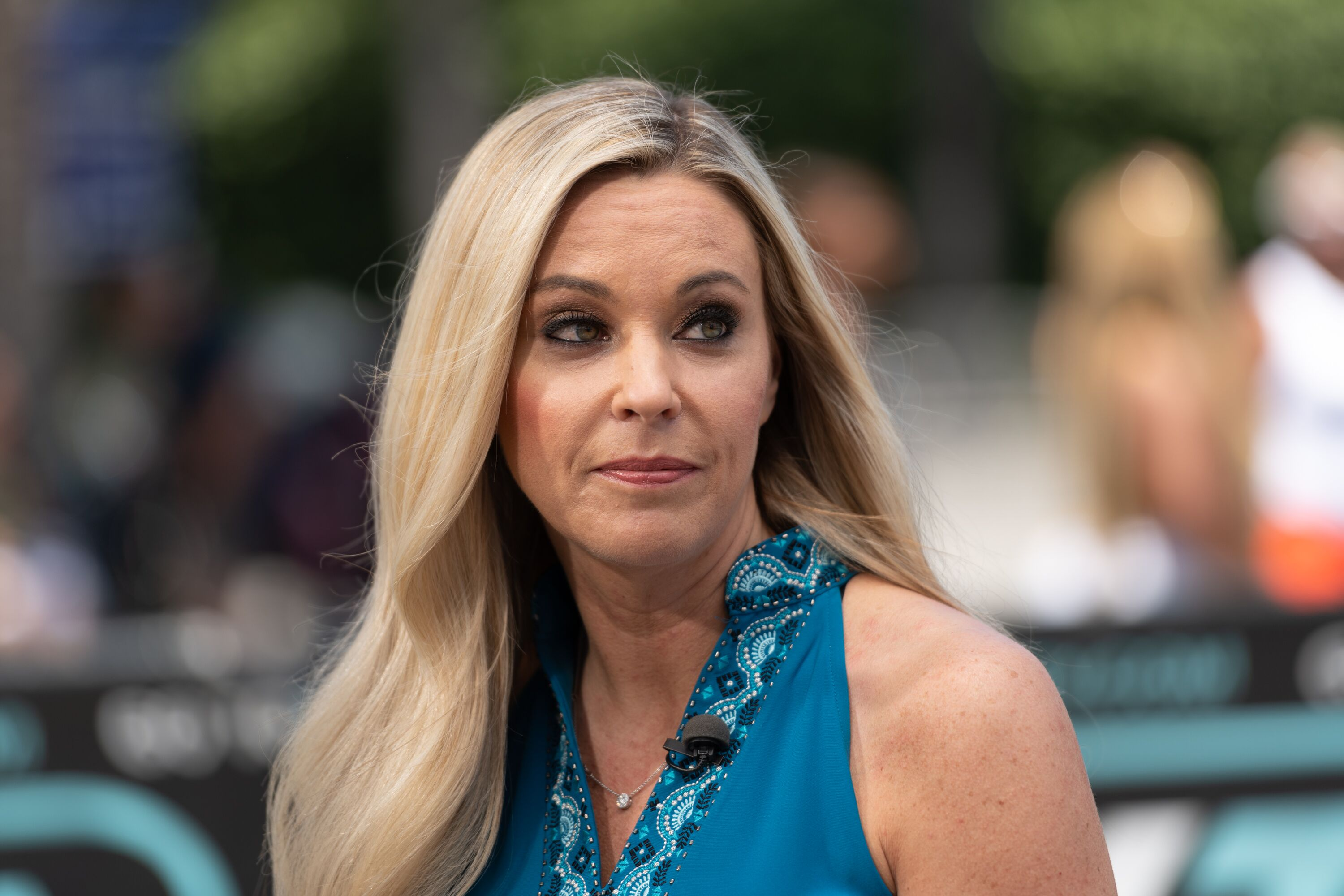 """Kate Gosselin visits """"Extra"""" at Universal Studios Hollywood on June 12, 2019 
