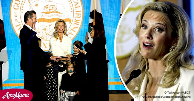 California Governor's wife refuses to be called 'The First Lady'