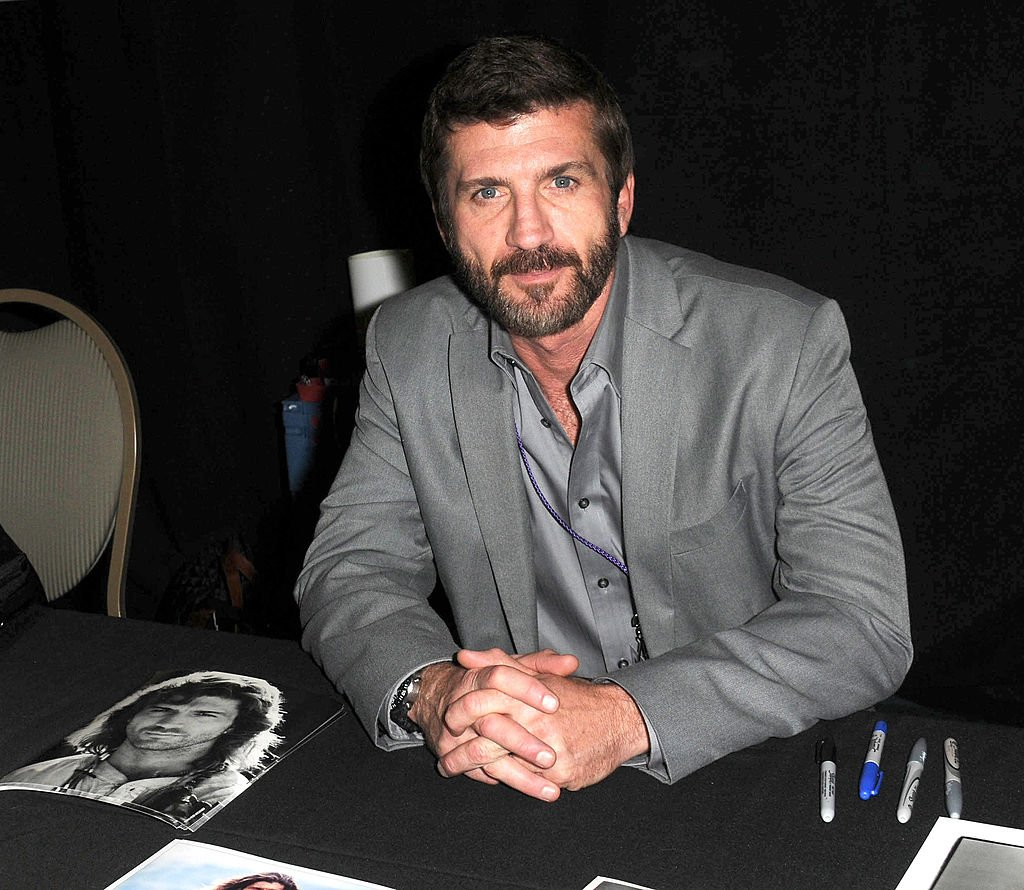 Joe Lando participates in The Hollywood Show held at Burbank Airport Marriott on April 21, 2012   Photo: Getty Images