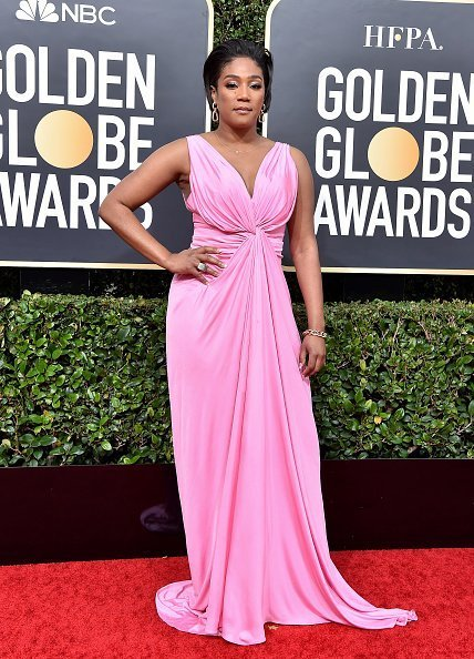 Tiffany Haddish attends the 77th Annual Golden Globe Awards at The Beverly Hilton Hotel on January 05, 2020 in Beverly Hills, California.|Photo:Getty Images