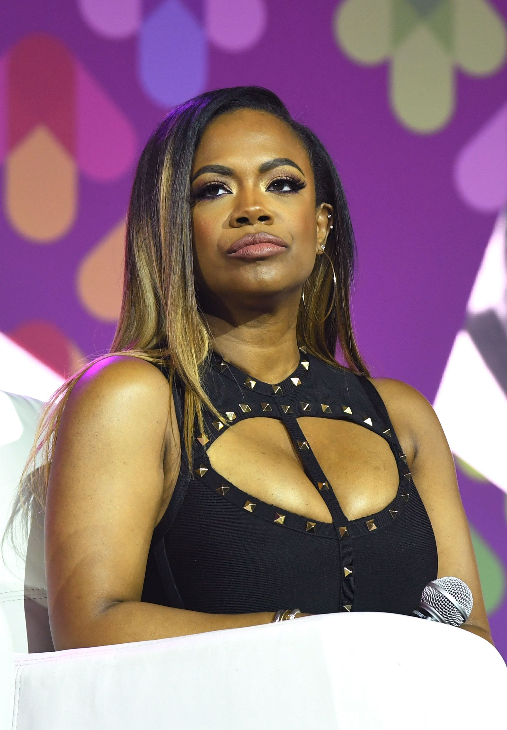 Kandi Burruss of 'Xscape' speaks onstage at the 2017 ESSENCE Festival presented by Coca-Cola at Ernest N. Morial Convention Center on July 2, 2017 in New Orleans, Louisiana. | Source: Getty Images