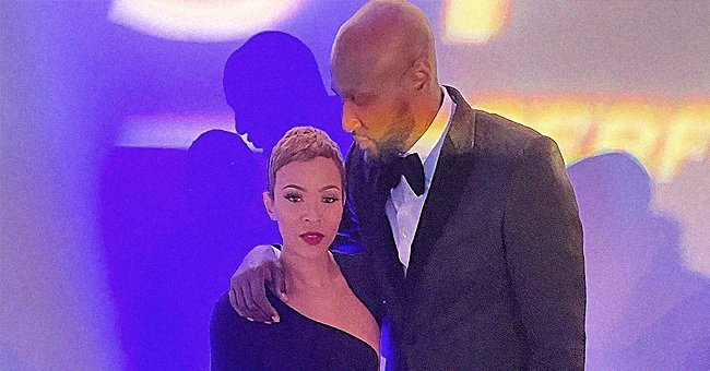 Lamar Odom & His Fiancée Sabrina Parr Had Fun in Cool Outfits after Getting Back Together