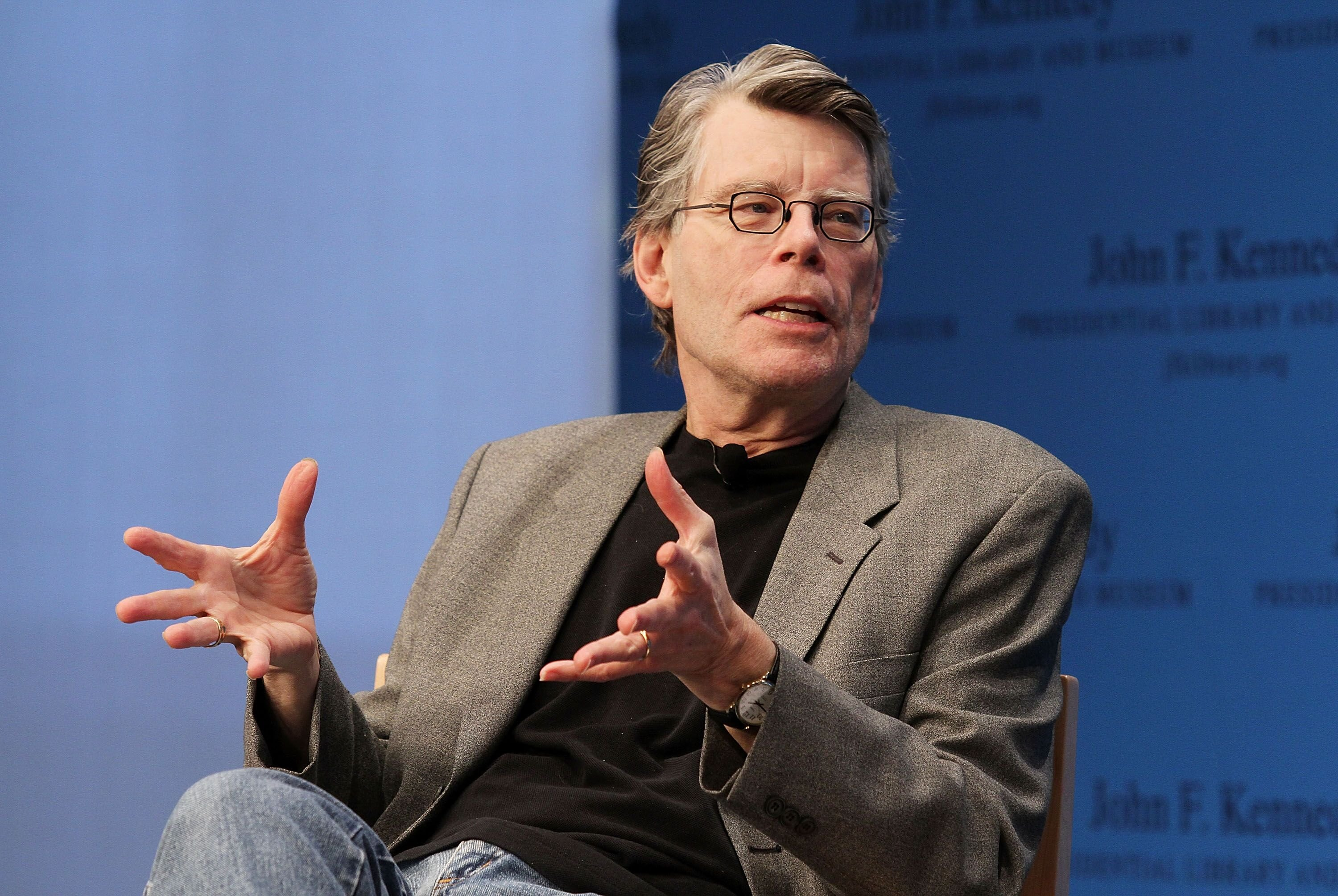 L'auteur Stephen King. l Source : Getty Images