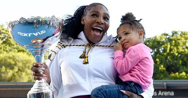 Serena Williams' Daughter Olympia Gets Busy with Her Qai Qai Coloring Book in New Photos