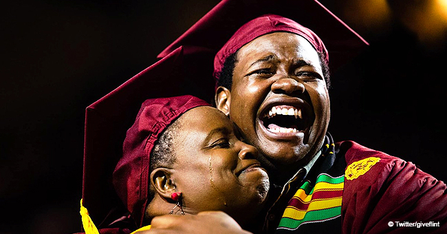 Mom Who Skipped Her Own Graduation to Attend Son's Surprised with Diploma