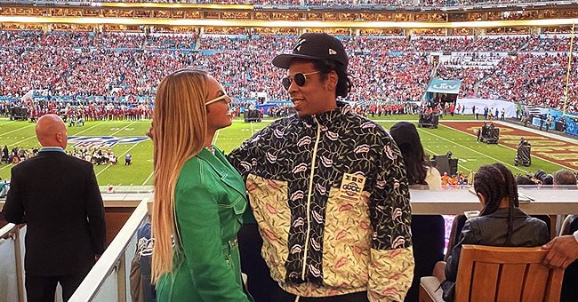 Jay-Z Addresses Video of Him & Beyoncé Sitting during National Anthem at Super Bowl