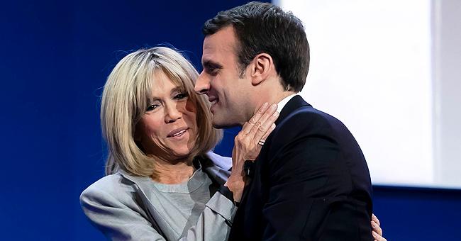 Brigitte et Emmanuel Macron : Instant romantique lors du défilé du 14 juillet 2019