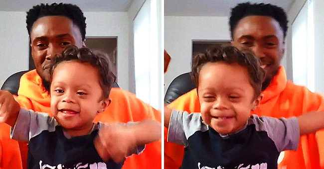 NJ Toddler Kristian Thomas Dances with Dad to Celebrate 11 Months of Being Cancer-Free & the Video Goes Viral