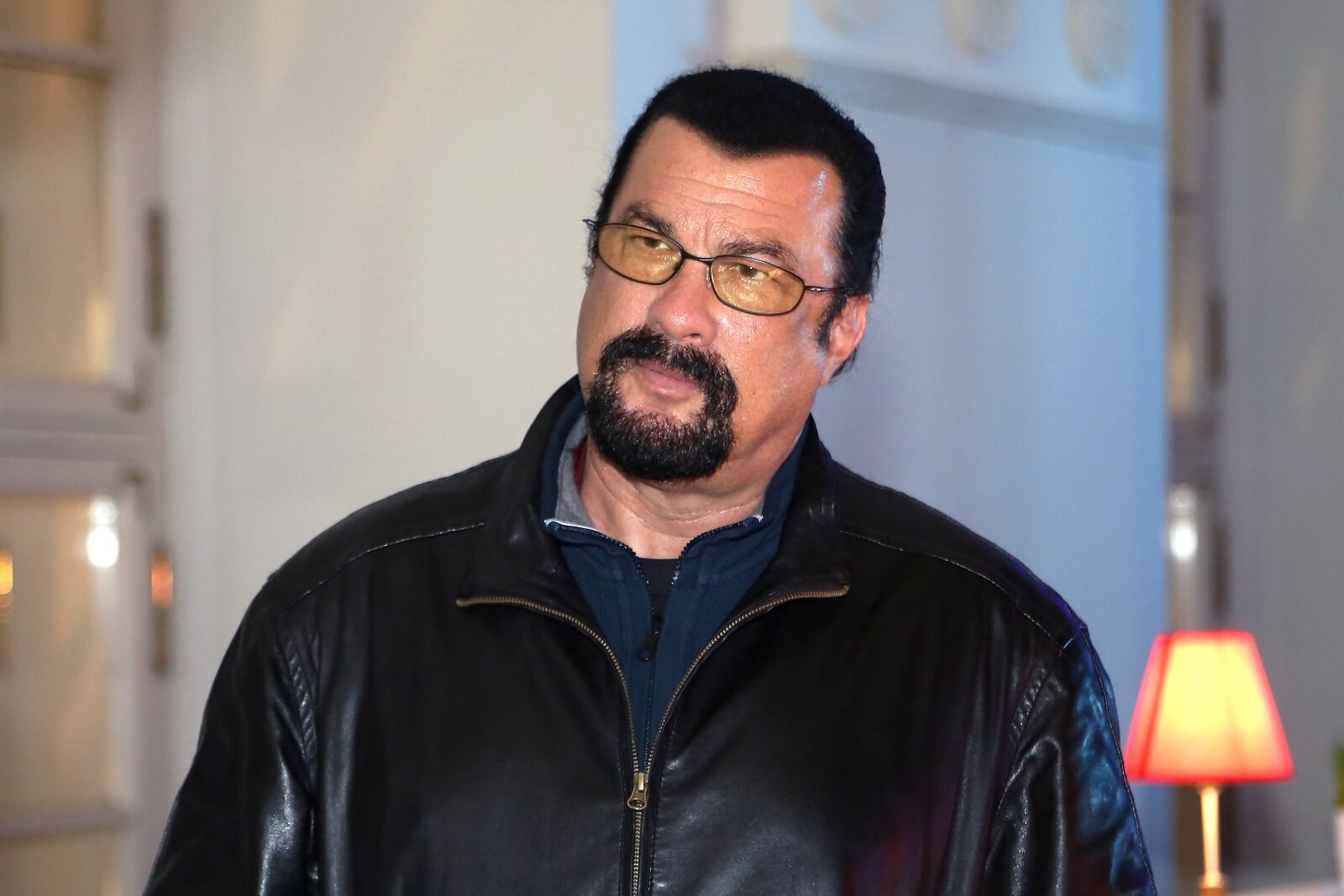 Actor Steven Seagal attends the Mercedes-Benz Fashion Week Russia S/S 2014 on October 28, 2013 in Moscow, Russia | Photo: Getty Images