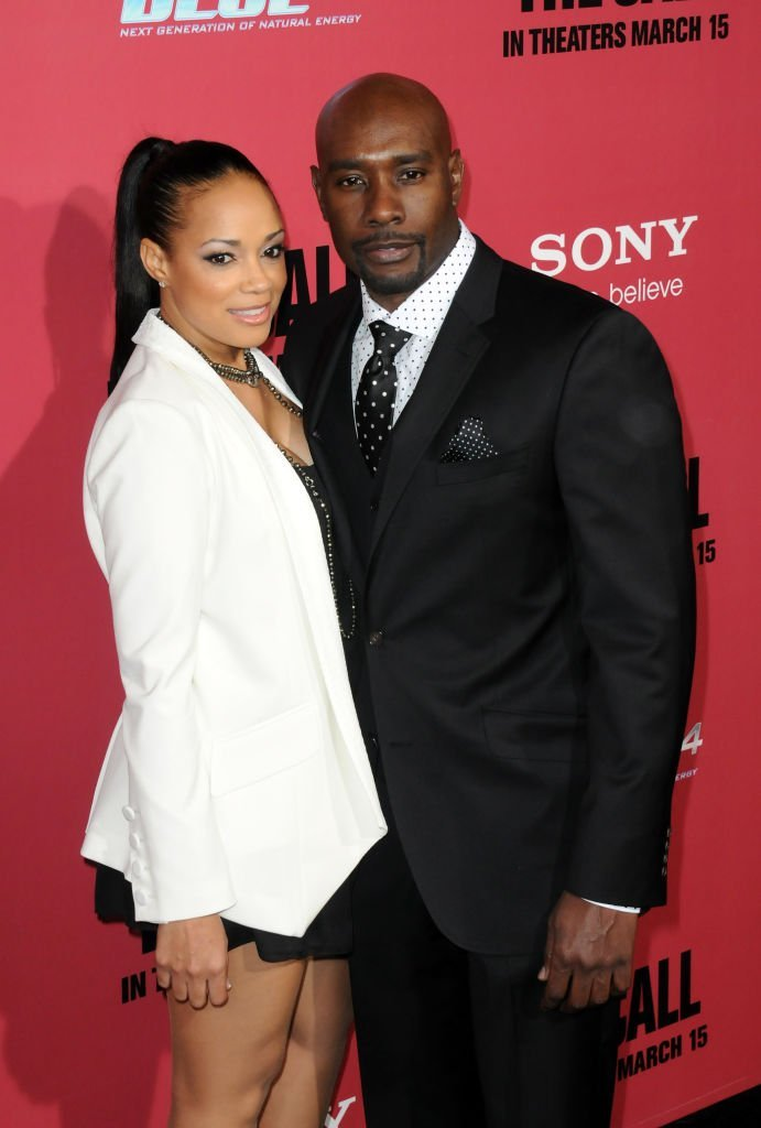 """Actor Morris Chestnut and Pam Byse arrive for Tri Star Pictures' """"The Call"""" held at ArcLight Cinemasl 