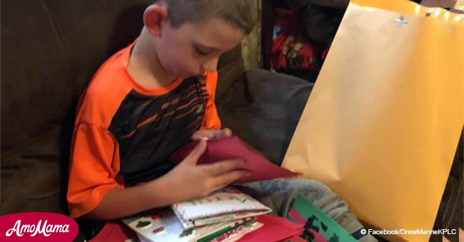 8-year-old boy with terminal brain tumor gets a surprise trip and thousands of Christmas cards