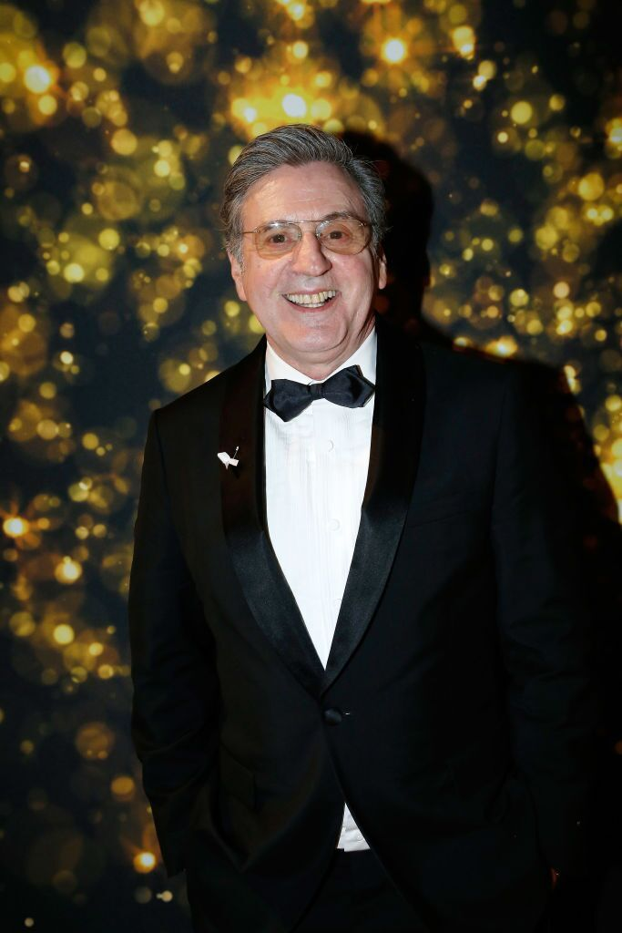 Daniel Auteuil assiste au «dîner au Fouquet's» lors du Cesar Film Award 2018 au Fouquet's à Paris, France. | Photo : Getty Images