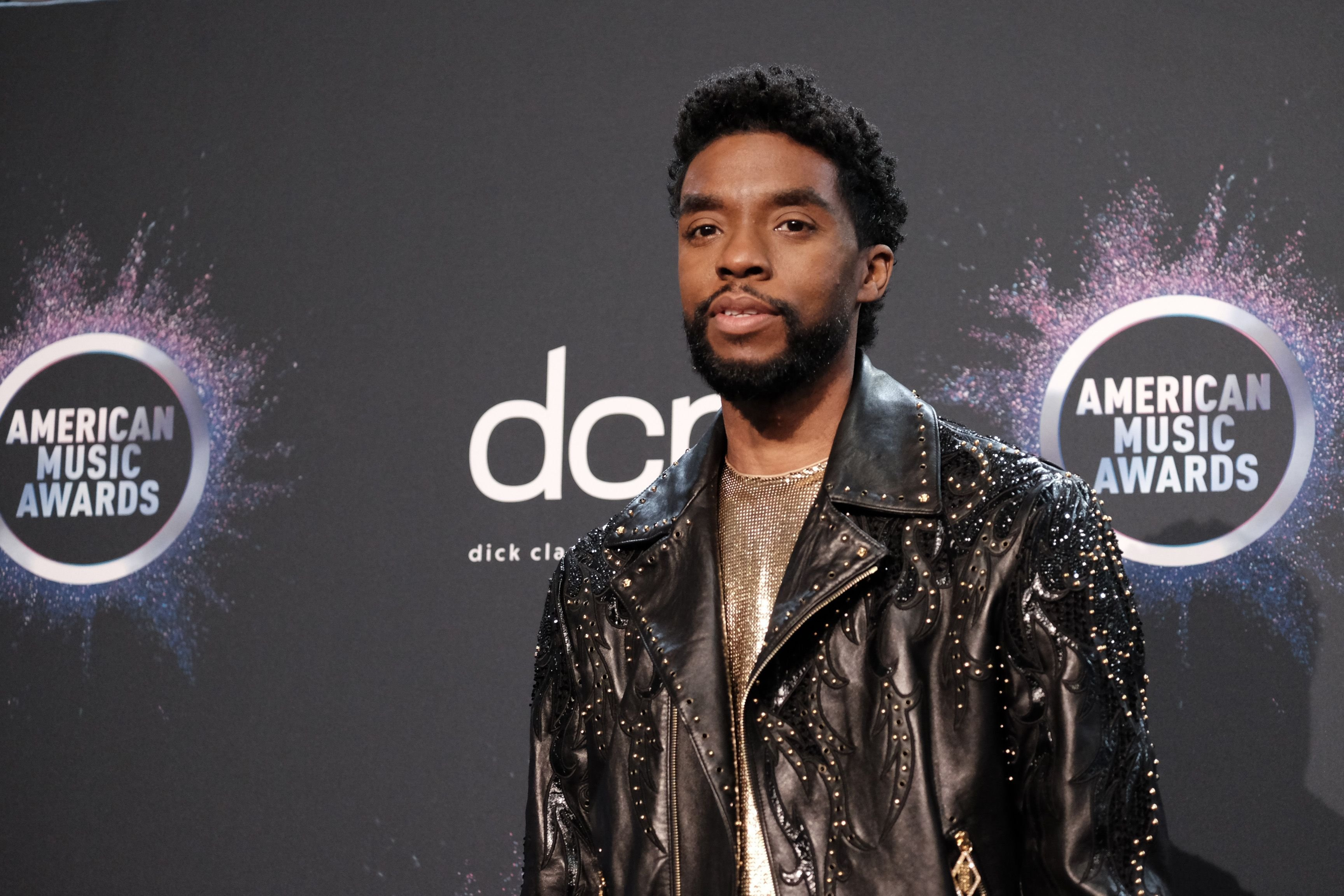 Chadwick Boseman during the 2019 American Music Awards at Microsoft Theater on November 24, 2019 in Los Angeles, California. | Source: Getty Images
