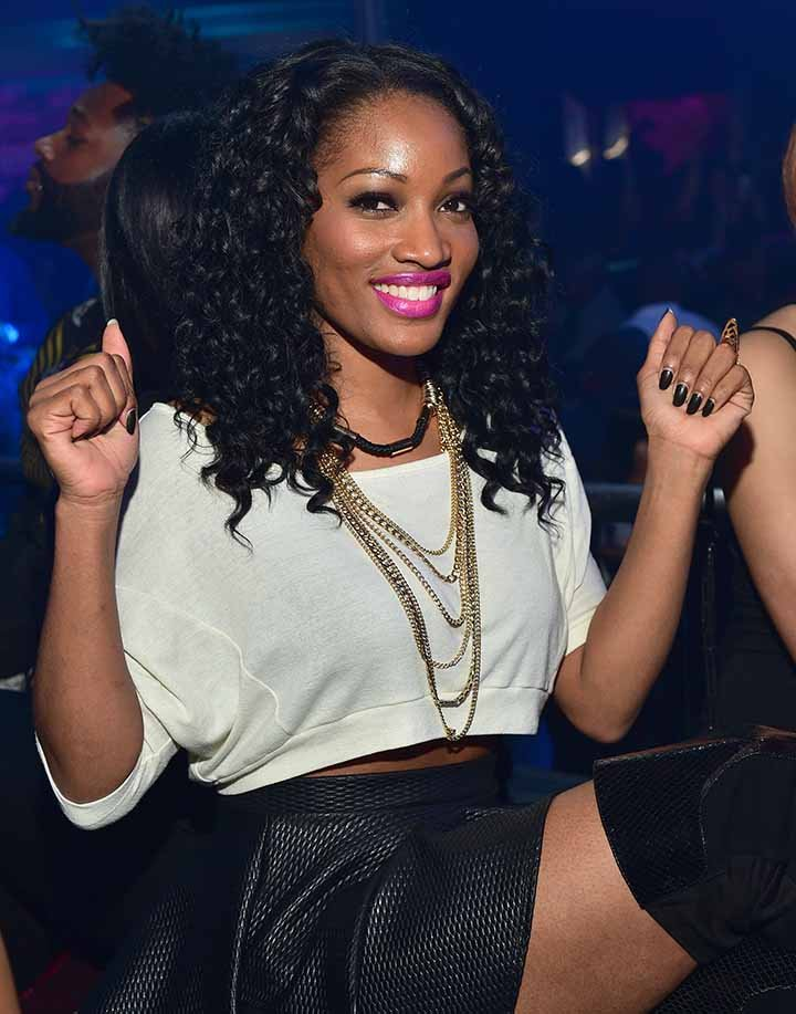 Erica Dixon attends Prive in Atlanta, Georgia on January 23, 2015.  I Photo: Getty Images