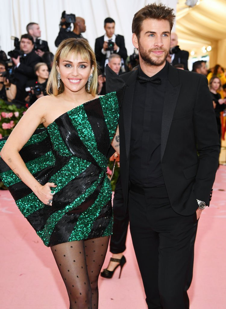Miley Cyrus and Liam Hemsworth attend The 2019 Met Gala Celebrating Camp: Notes on Fashion at Metropolitan Museum of Art. | Photo: Getty Images