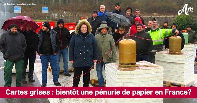 240 employés brûlent chaque jour du stock de papier après la liquidation de l'usine en Seine-et-Marne