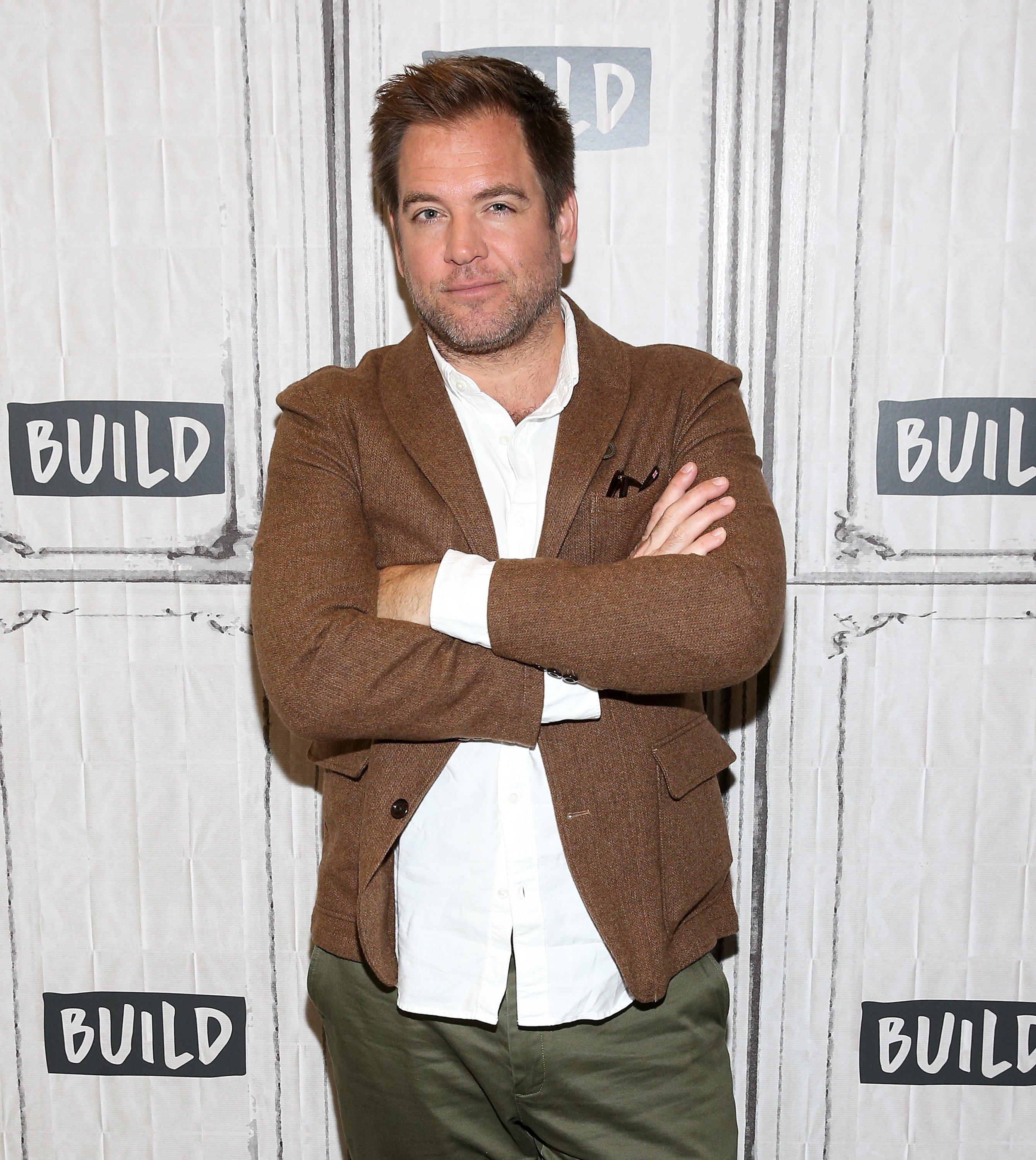 "Michael Weatherly visits Build to discuss ""Bull"" at Build Studio on September 26, 2017. 