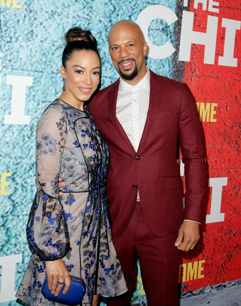 Angela Rye and Common attending the premiere of Showtime's 'The Chi' at Downtown Independent on January 3, 2018 in Los Angeles, California. | Photo: Getty